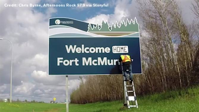 FortMacWelcome Home